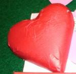 Organic chocolate heart_14feb12 (Photo by Susan Chambers)